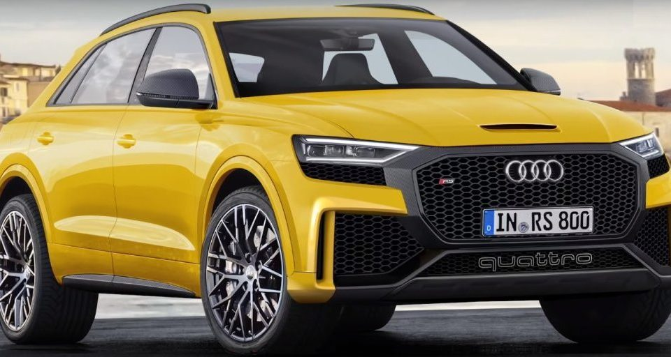 Some interesting news about Audi RS Q8