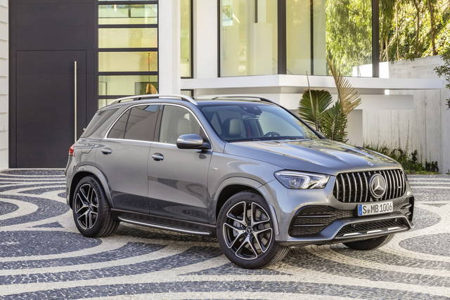 Some news about the Mercedes-AMG GLE 53