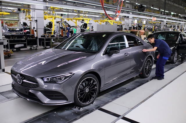 Mercedes CLA, the production starts