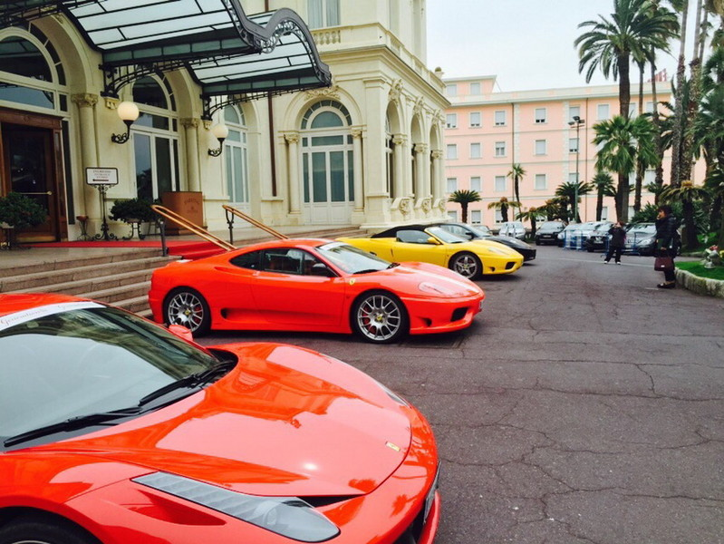 Luxury Car Rental in Sanremo