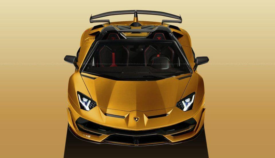 Lamborghini Aventador SVJ Roadster at Geneva 2019