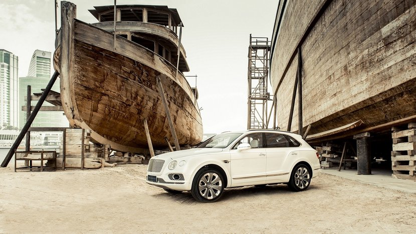 Bentley Bentayga Pearl of the Gulf