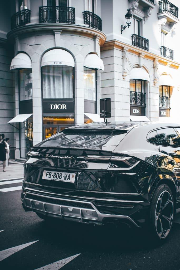 Lamborghini Urus In Sardinia
