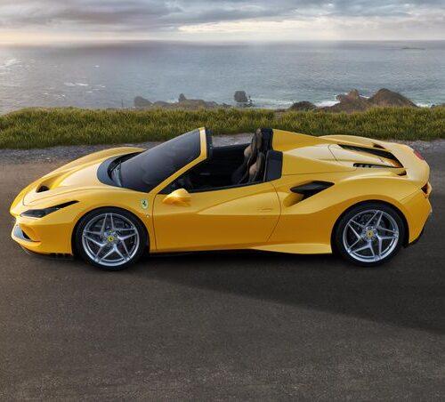 Rent Ferrari F8 Spider