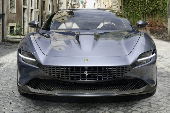 Rent a Ferrari Roma