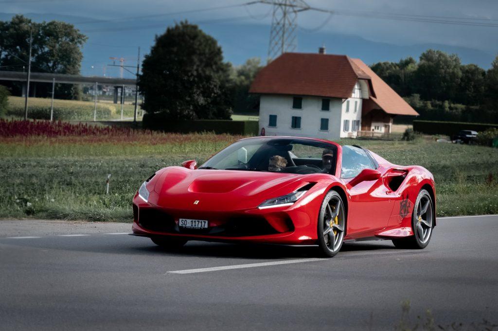Rent a Ferrari and Mercedes AMG G63