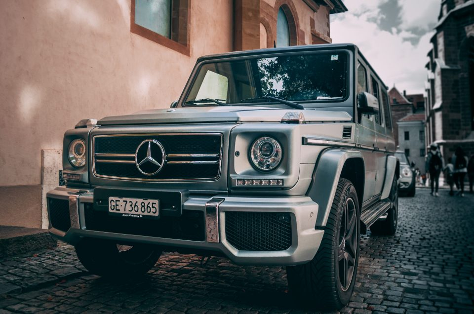 Rent a Mercedes G63 AMG In Amalfi Coast